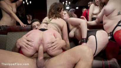 Photo number 12 from The Final Armory BDSM Orgy with a huge group orgasm! shot for The Upper Floor on Kink.com. Featuring Ramon Nomar, Aiden Starr, Cherry Torn and Nora Riley in hardcore BDSM & Fetish porn.