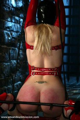 Photo number 6 from Annette Schwarz shot for Sex And Submission on Kink.com. Featuring Brandon Iron and Annette Schwarz in hardcore BDSM & Fetish porn.
