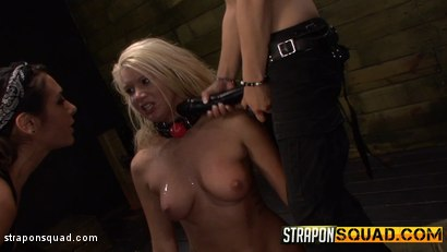 Photo number 14 from Girl Next Door Layla Price Gets Bound & Dominated shot for Strapon Squad on Kink.com. Featuring Layla Price, Isa Mendez and Mila Blaze in hardcore BDSM & Fetish porn.