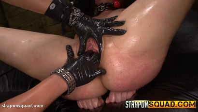 Photo number 13 from Pain Sub Slut Alessa Snow Endures Lesbian Domination shot for Strapon Squad on Kink.com. Featuring Kimber Woods, Alessa Snow and Isa Mendez in hardcore BDSM & Fetish porn.