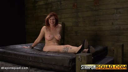 Photo number 16 from Pain Sub Slut Alessa Snow Endures Lesbian Domination shot for Strapon Squad on Kink.com. Featuring Kimber Woods, Alessa Snow and Isa Mendez in hardcore BDSM & Fetish porn.