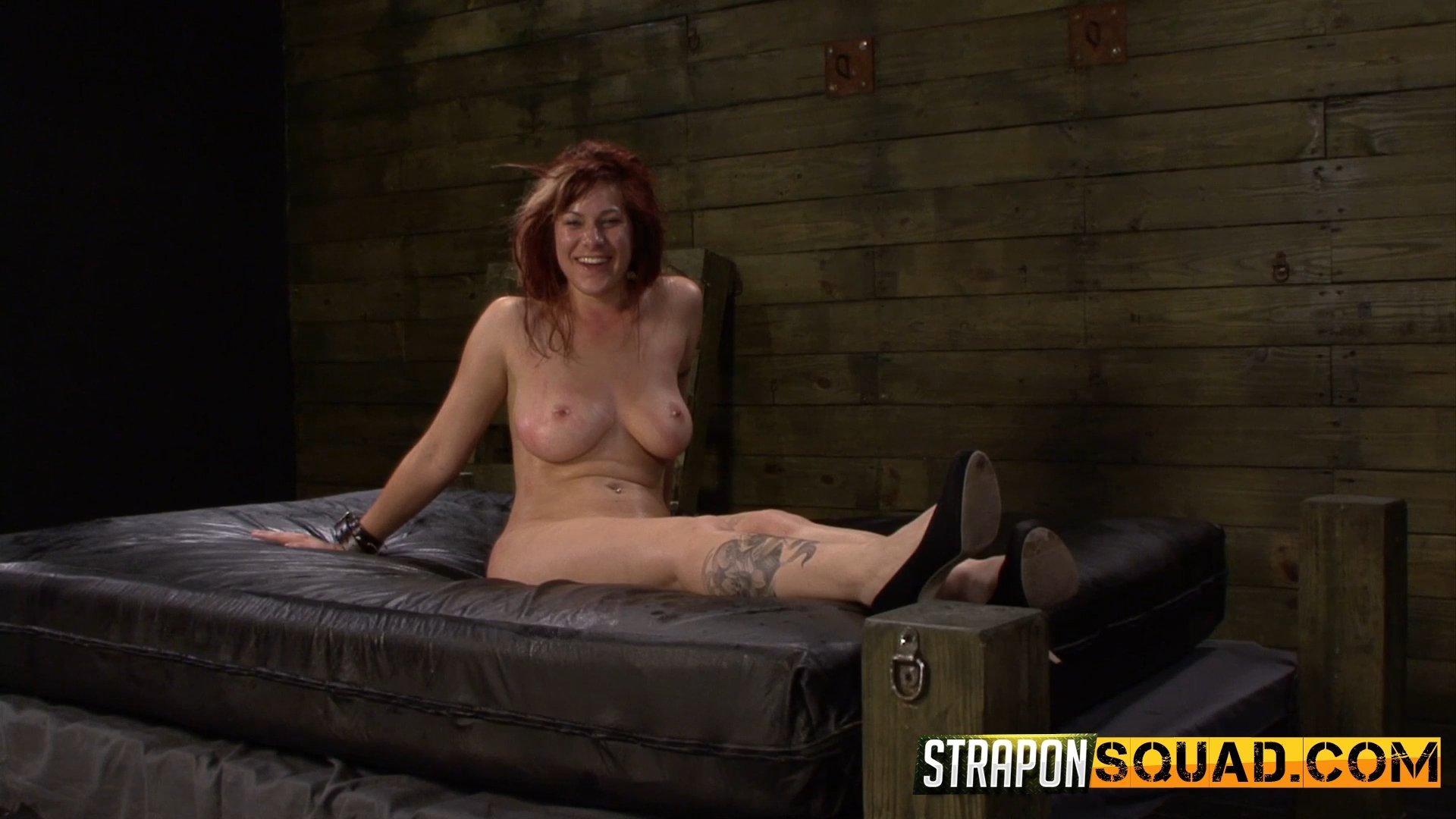 lesbian sub slut - Photo number 16 from Pain Sub Slut Alessa Snow Endures Lesbian Domination  shot for Strapon Squad