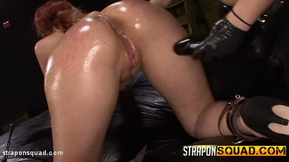 Photo number 6 from Pain Sub Slut Alessa Snow Endures Lesbian Domination shot for Strapon Squad on Kink.com. Featuring Kimber Woods, Alessa Snow and Isa Mendez in hardcore BDSM & Fetish porn.