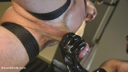 Photo number 8 from Lust for Latex shot for Bound Gods on Kink.com. Featuring Jaxton Wheeler and Alex Mecum in hardcore BDSM & Fetish porn.