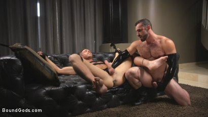 Photo number 12 from Lust for Latex shot for Bound Gods on Kink.com. Featuring Jaxton Wheeler and Alex Mecum in hardcore BDSM & Fetish porn.