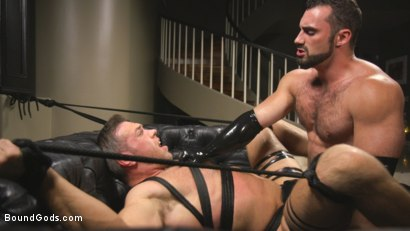 Photo number 14 from Lust for Latex shot for Bound Gods on Kink.com. Featuring Jaxton Wheeler and Alex Mecum in hardcore BDSM & Fetish porn.