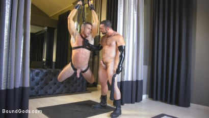 Photo number 9 from Lust for Latex shot for Bound Gods on Kink.com. Featuring Jaxton Wheeler and Alex Mecum in hardcore BDSM & Fetish porn.