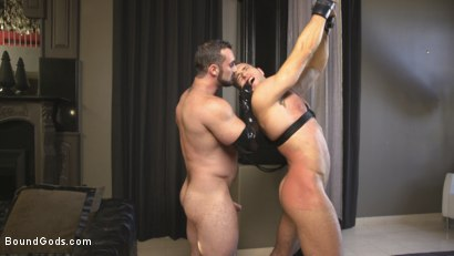 Photo number 5 from Lust for Latex shot for Bound Gods on Kink.com. Featuring Jaxton Wheeler and Alex Mecum in hardcore BDSM & Fetish porn.