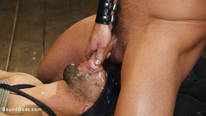Photo number 14 from New house slave offers himself to the sexual desires of Master Colter shot for Bound Gods on Kink.com. Featuring Jessie Colter and Chance Summerlin in hardcore BDSM & Fetish porn.