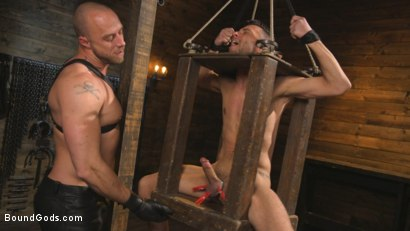Photo number 6 from New house slave offers himself to the sexual desires of Master Colter shot for Bound Gods on Kink.com. Featuring Jessie Colter and Chance Summerlin in hardcore BDSM & Fetish porn.