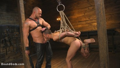 Photo number 11 from New house slave offers himself to the sexual desires of Master Colter shot for Bound Gods on Kink.com. Featuring Jessie Colter and Chance Summerlin in hardcore BDSM & Fetish porn.