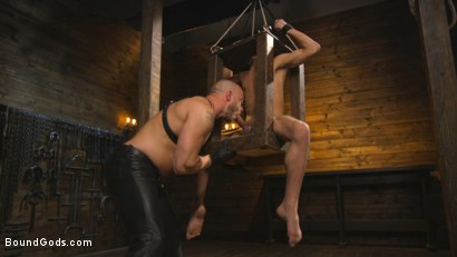 Photo number 4 from New house slave offers himself to the sexual desires of Master Colter shot for Bound Gods on Kink.com. Featuring Jessie Colter and Chance Summerlin in hardcore BDSM & Fetish porn.