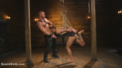 Photo number 10 from New house slave offers himself to the sexual desires of Master Colter shot for Bound Gods on Kink.com. Featuring Jessie Colter and Chance Summerlin in hardcore BDSM & Fetish porn.