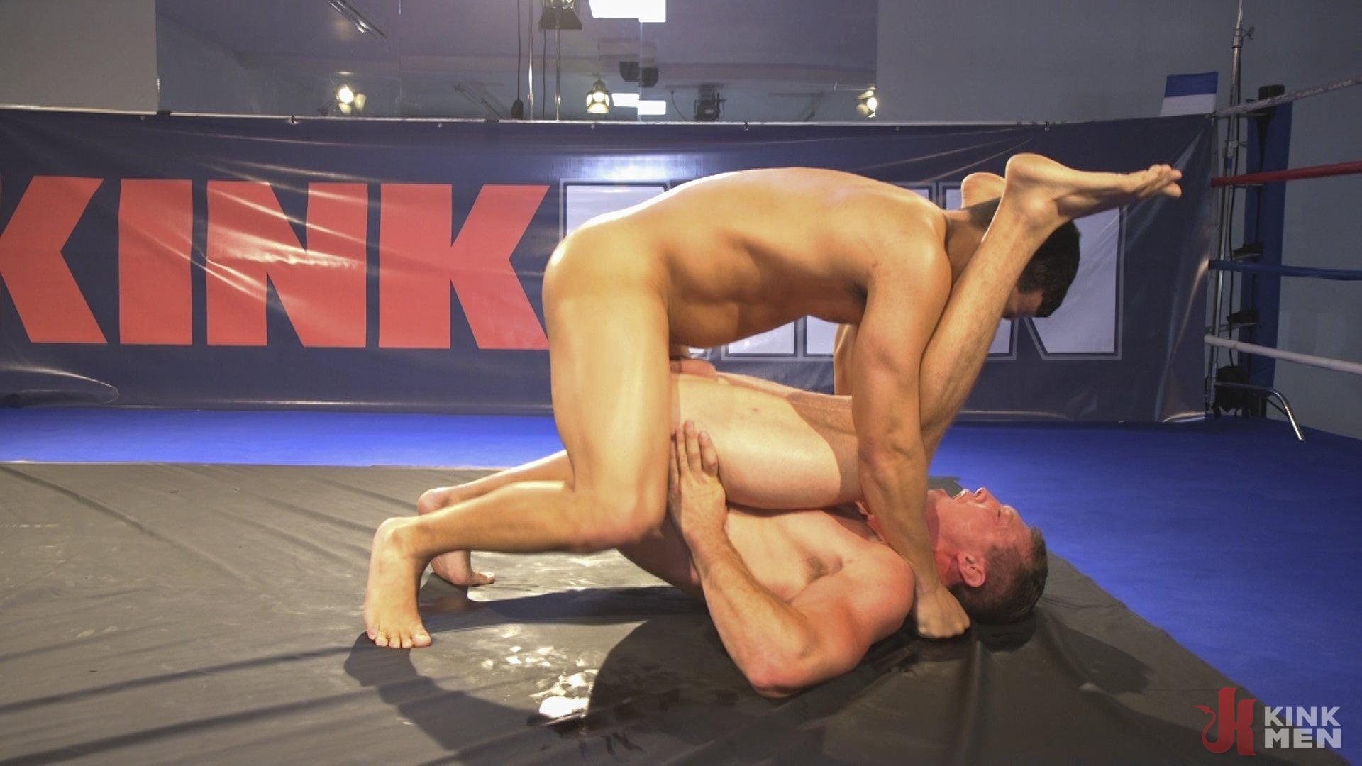 Photo number 13 from Hot newcomer Pierce Hartman challenges Kaden Alexander shot for Naked Kombat on Kink.com. Featuring Kaden Alexander and Pierce Paris in hardcore BDSM & Fetish porn.