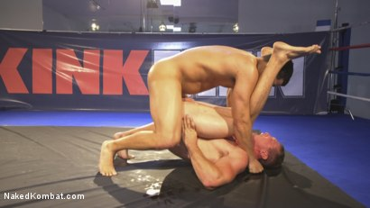 Photo number 13 from Hot newcomer Pierce Hartman challenges Kaden Alexander shot for Naked Kombat on Kink.com. Featuring Kaden Alexander and Pierce Paris in hardcore BDSM & Fetish porn.
