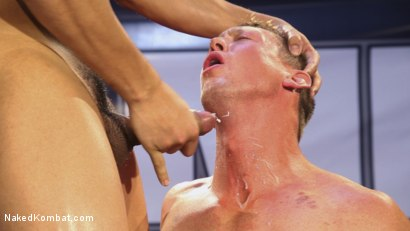 Photo number 14 from Hot newcomer Pierce Hartman challenges Kaden Alexander shot for Naked Kombat on Kink.com. Featuring Kaden Alexander and Pierce Paris in hardcore BDSM & Fetish porn.
