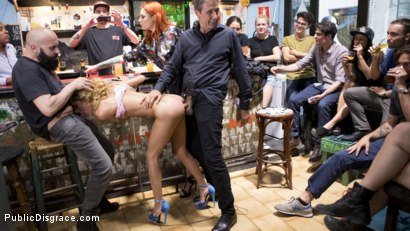 Photo number 16 from Petite Shy Latina Gabriela Flores' First Public Fucking   shot for Public Disgrace on Kink.com. Featuring Steve Holmes, Gabriela Flores, Max Cortes and Silvia Rubi in hardcore BDSM & Fetish porn.