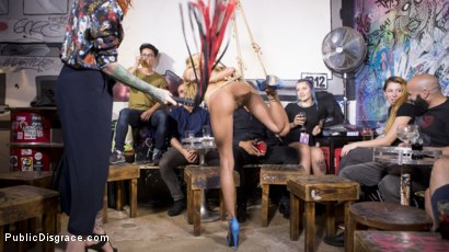 Photo number 19 from Petite Shy Latina Gabriela Flores' First Public Fucking   shot for Public Disgrace on Kink.com. Featuring Steve Holmes, Gabriela Flores, Max Cortes and Silvia Rubi in hardcore BDSM & Fetish porn.