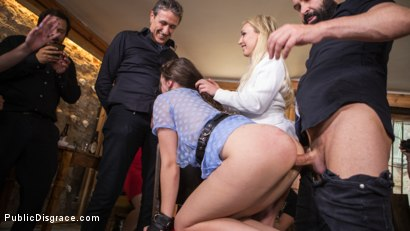 Photo number 22 from The Public Fuck Toy of Barcelona shot for Public Disgrace on Kink.com. Featuring Steve Holmes, Liz Rainbow, Max Cortes and Amber Deen in hardcore BDSM & Fetish porn.