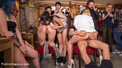 Photo number 28 from The Public Fuck Toy of Barcelona shot for Public Disgrace on Kink.com. Featuring Steve Holmes, Liz Rainbow, Max Cortes and Amber Deen in hardcore BDSM & Fetish porn.