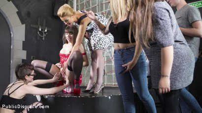 Photo number 14 from Perky Young French Brunette Begs For Anal Sex in Public shot for Public Disgrace on Kink.com. Featuring Steve Holmes, Max Cortes, Cherry Kiss and Luna Rival in hardcore BDSM & Fetish porn.