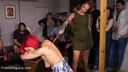 Photo number 15 from Petite Natural Whore Shamed in Public and Gang Fucked in Rope Bondage! shot for Public Disgrace on Kink.com. Featuring Steve Holmes, Max Cortes, Silvia Rubi, Susy Blue and Margout Darko in hardcore BDSM & Fetish porn.
