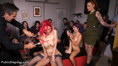 Photo number 12 from Petite Natural Whore Shamed in Public and Gang Fucked in Rope Bondage! shot for Public Disgrace on Kink.com. Featuring Steve Holmes, Max Cortes, Silvia Rubi, Susy Blue and Margout Darko in hardcore BDSM & Fetish porn.