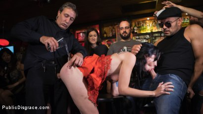 Photo number 11 from Walk of Shame Slut Lilyan Red, Disgraced, Humiliated, Fucked in Public shot for Public Disgrace on Kink.com. Featuring Steve Holmes, Antonio Ross and Lilyan Red in hardcore BDSM & Fetish porn.