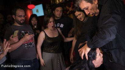 Photo number 13 from Walk of Shame Slut Lilyan Red, Disgraced, Humiliated, Fucked in Public shot for Public Disgrace on Kink.com. Featuring Steve Holmes, Antonio Ross and Lilyan Red in hardcore BDSM & Fetish porn.