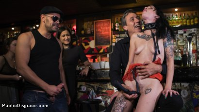 Photo number 15 from Walk of Shame Slut Lilyan Red, Disgraced, Humiliated, Fucked in Public shot for Public Disgrace on Kink.com. Featuring Steve Holmes, Antonio Ross and Lilyan Red in hardcore BDSM & Fetish porn.