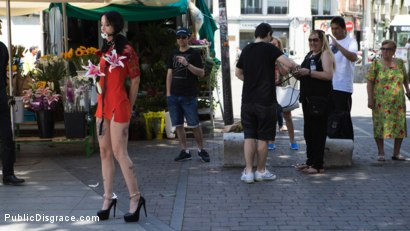 Photo number 2 from Walk of Shame Slut Lilyan Red, Disgraced, Humiliated, Fucked in Public shot for Public Disgrace on Kink.com. Featuring Steve Holmes, Antonio Ross and Lilyan Red in hardcore BDSM & Fetish porn.