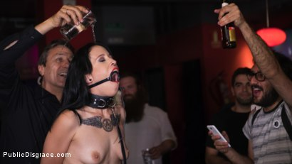 Photo number 7 from Walk of Shame Slut Lilyan Red, Disgraced, Humiliated, Fucked in Public shot for Public Disgrace on Kink.com. Featuring Steve Holmes, Antonio Ross and Lilyan Red in hardcore BDSM & Fetish porn.