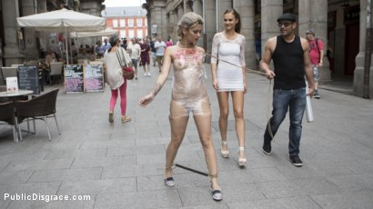 Photo number 4 from Attention Whore Yunno X Humilated, Punished, and Gang Fucked in Public shot for Public Disgrace on Kink.com. Featuring Steve Holmes, Antonio Ross, Tina Kay and Yunno X in hardcore BDSM & Fetish porn.