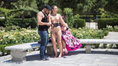 Photo number 2 from Perky Blonde Selvaggia Fully Nude in Public Gets Anal Fisted & DP'd shot for Public Disgrace on Kink.com. Featuring Steve Holmes, Antonio Ross, Tina Kay and Selvaggia in hardcore BDSM & Fetish porn.