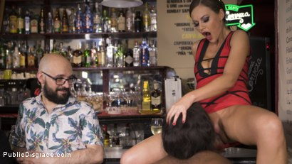 Photo number 13 from Sunny Star Fucked in Public shot for Public Disgrace on Kink.com. Featuring Steve Holmes, Tina Kay and Sunny Star in hardcore BDSM & Fetish porn.
