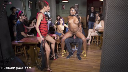 Photo number 31 from Sunny Star Fucked in Public shot for Public Disgrace on Kink.com. Featuring Steve Holmes, Tina Kay and Sunny Star in hardcore BDSM & Fetish porn.