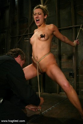 Photo number 13 from Gwen Diamond shot for Hogtied on Kink.com. Featuring Gwen Diamond in hardcore BDSM & Fetish porn.
