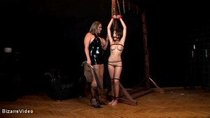 Photo number 1 from Hanna's Nightmare: Zara, Laura M shot for Bizarre Video on Kink.com. Featuring  in hardcore BDSM & Fetish porn.