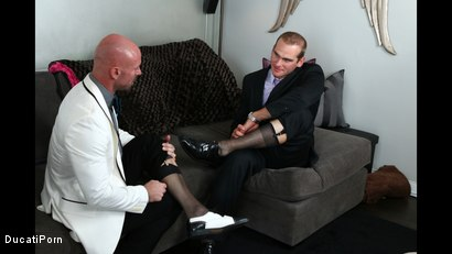 Photo number 1 from Thigh High: Mitch Vaughn, Jonah Marx shot for Ducati Porn on Kink.com. Featuring Mitch Vaughn and Jonah Marx in hardcore BDSM & Fetish porn.