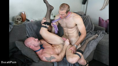 Photo number 15 from Thigh High: Mitch Vaughn, Jonah Marx shot for Ducati Porn on Kink.com. Featuring Mitch Vaughn and Jonah Marx in hardcore BDSM & Fetish porn.