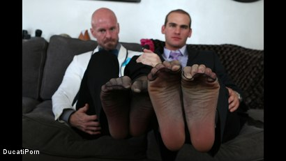 Photo number 3 from Thigh High: Mitch Vaughn, Jonah Marx shot for Ducati Porn on Kink.com. Featuring Mitch Vaughn and Jonah Marx in hardcore BDSM & Fetish porn.