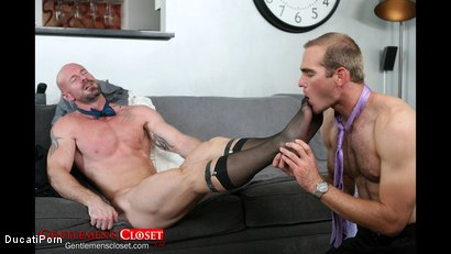 Photo number 9 from Thigh High: Mitch Vaughn, Jonah Marx shot for Ducati Porn on Kink.com. Featuring Mitch Vaughn and Jonah Marx in hardcore BDSM & Fetish porn.