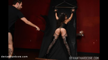 Photo number 2 from Submission 2: Cindy Starfall, Tommy Pistol shot for Deviant Hardcore on Kink.com. Featuring Cindy Starfall and Tommy Pistol in hardcore BDSM & Fetish porn.