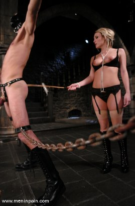 Photo number 3 from Harmony and Lefty shot for Men In Pain on Kink.com. Featuring Harmony and Lefty in hardcore BDSM & Fetish porn.