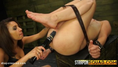 Photo number 14 from Charli Acacia Endures Lesbian Domination & Sybian with Esmi Lee shot for Strapon Squad on Kink.com. Featuring Charli Acacia and Esmi Lee in hardcore BDSM & Fetish porn.
