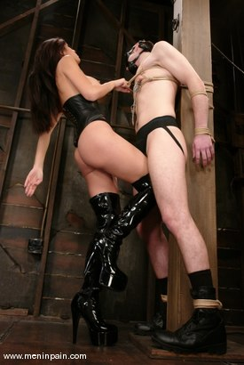 Photo number 3 from Nomad and shy love shot for Men In Pain on Kink.com. Featuring shy love and Nomad in hardcore BDSM & Fetish porn.