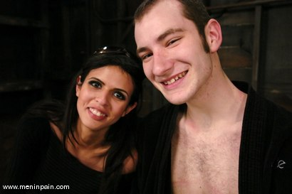 Photo number 15 from Nomad and shy love shot for Men In Pain on Kink.com. Featuring shy love and Nomad in hardcore BDSM & Fetish porn.