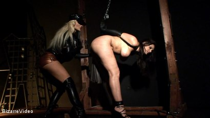 Photo number 11 from Hung And Abused: Aria Giovanni, Krystal shot for Bizarre Video on Kink.com. Featuring Aria Giovanni in hardcore BDSM & Fetish porn.