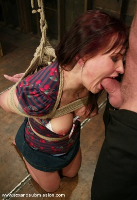 Photo number 4 from Katja Kassin shot for Sex And Submission on Kink.com. Featuring Mark Davis and Katja Kassin in hardcore BDSM & Fetish porn.