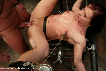 Photo number 13 from Katja Kassin shot for Sex And Submission on Kink.com. Featuring Mark Davis and Katja Kassin in hardcore BDSM & Fetish porn.